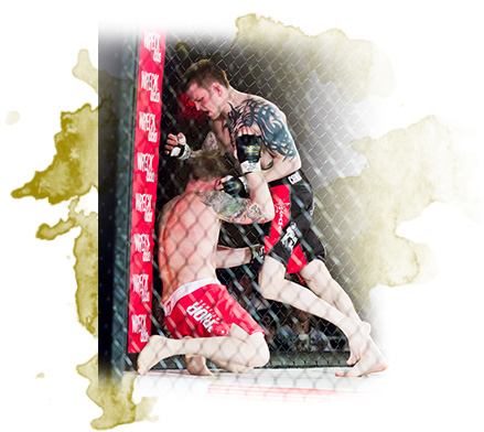 Kru Jeff Harrison pro MMA fight