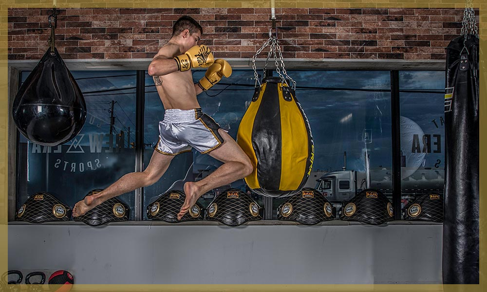 New Era combat sports muay thai advanced drilling class