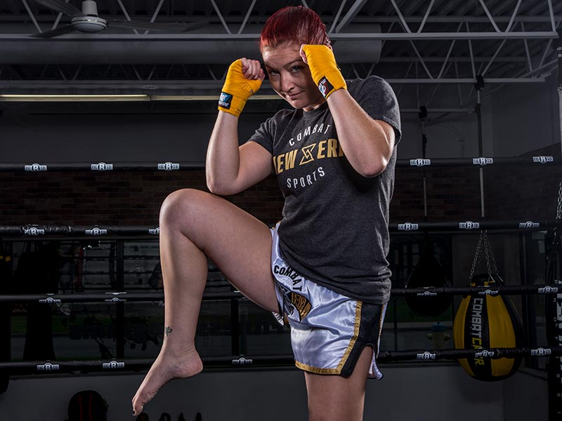 New Era combat sports muay thai technique class